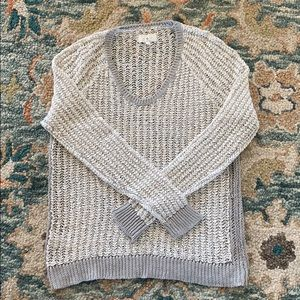 Lou and Grey Loose Knit Sweater. Size S